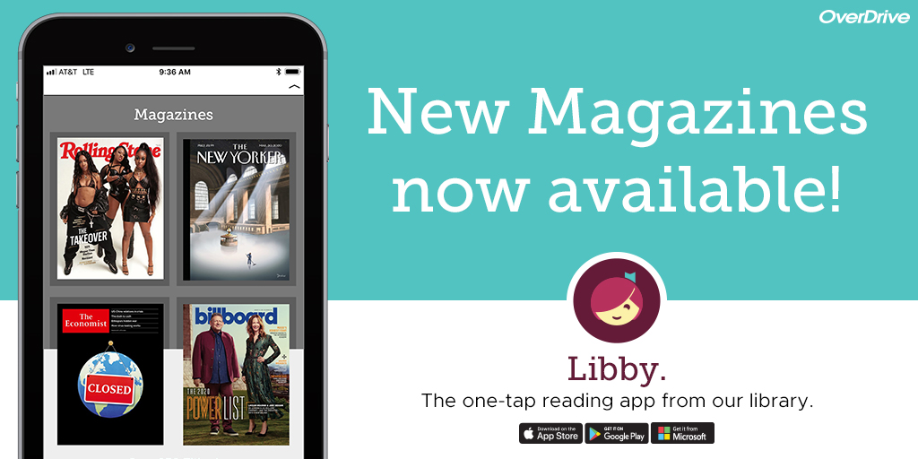 Digital Magazines Move to Libby