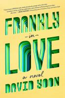 Frankly in Love by David Yoon cover