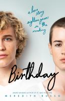 Birthday by Meredith Russo cover