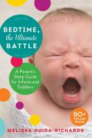 Bedtime the Ultimate Battle by Melissa Guida-Richards cover