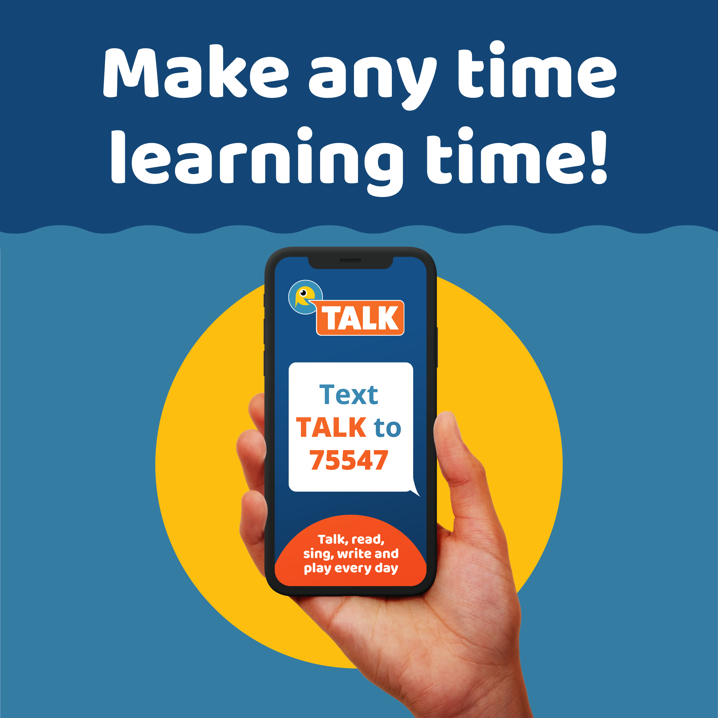 TALK Text and Learn for Kindergarten